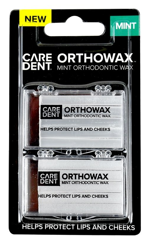 OrthoWax Orthodontic Wax Mint - 2pcs
