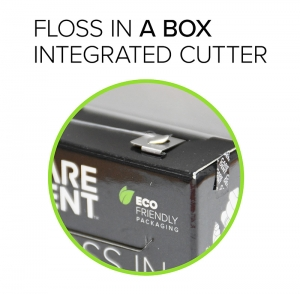 Floss In A Box Periotape Dental Flossing Tape 100m (10/Box)